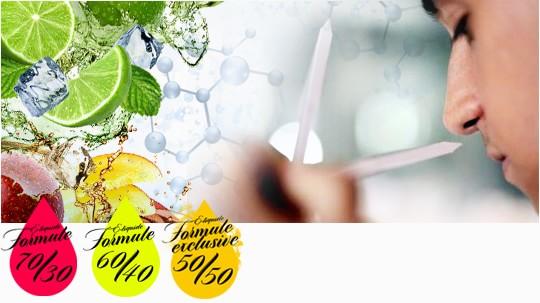 saveurs développées en laboratoire e-liquide France