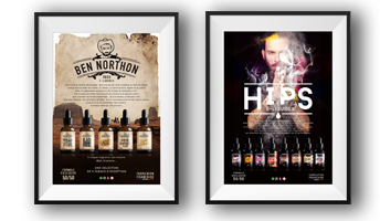 poster marketing e-liquide