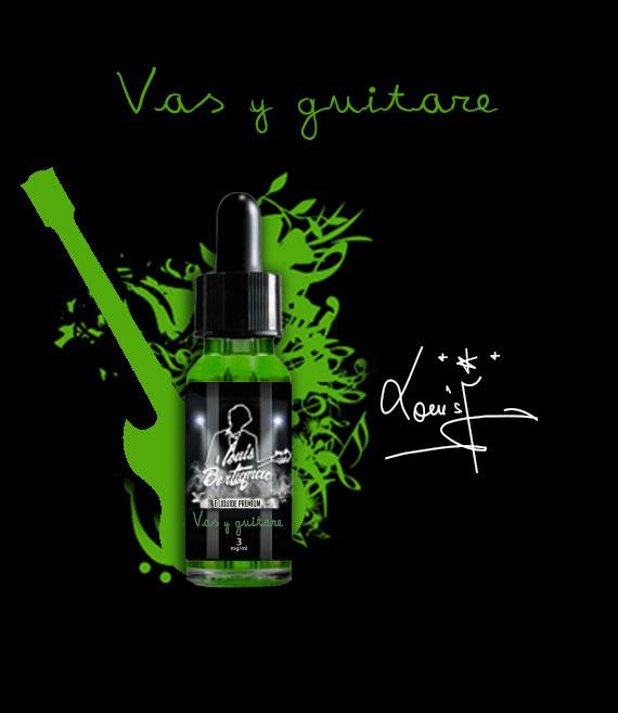 e-liquide Louis Bertignac Vas-y guitare