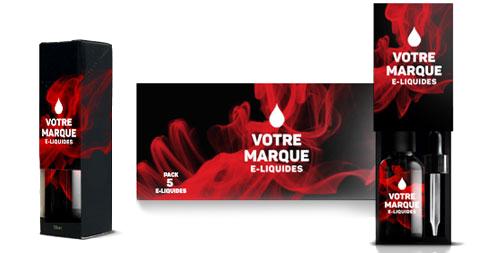 packaging personalisé e-liquide par fabricant Solevan France