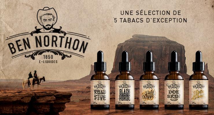 Fabricant français et grossiste e-liquide Ben Northon