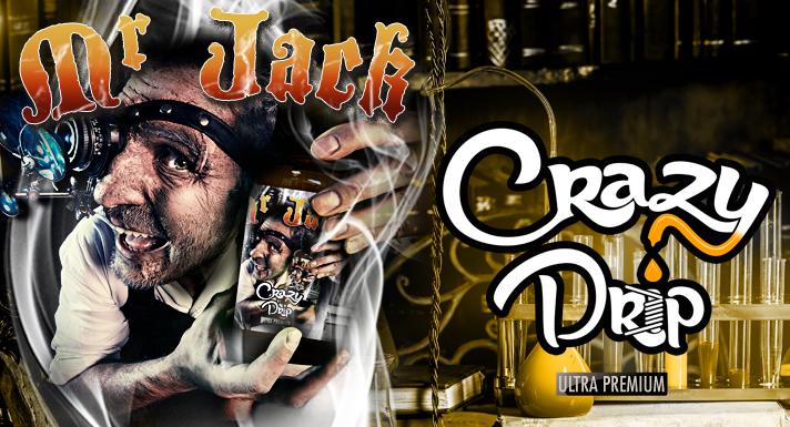 Fabricant français et grossiste e-liquide Mr Jack Crazy Drip